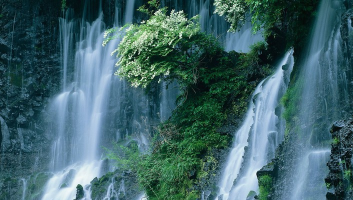 Japan waterfalls wallpaper