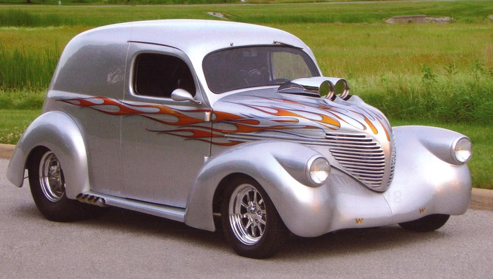 1937 willys sedan devlivery wallpaper