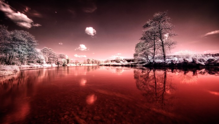 Red lake pictures wallpaper