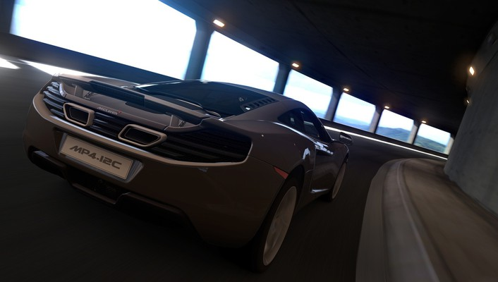 Mclaren mp4-12c playstation 3 gran turismo 6 wallpaper