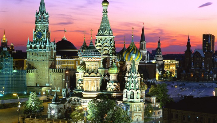 Kremlin moscow red square russia architecture wallpaper