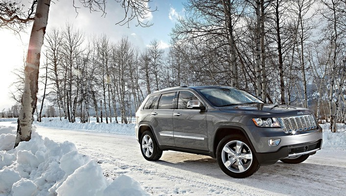 Jeep grand cherokee suv cars nature wallpaper