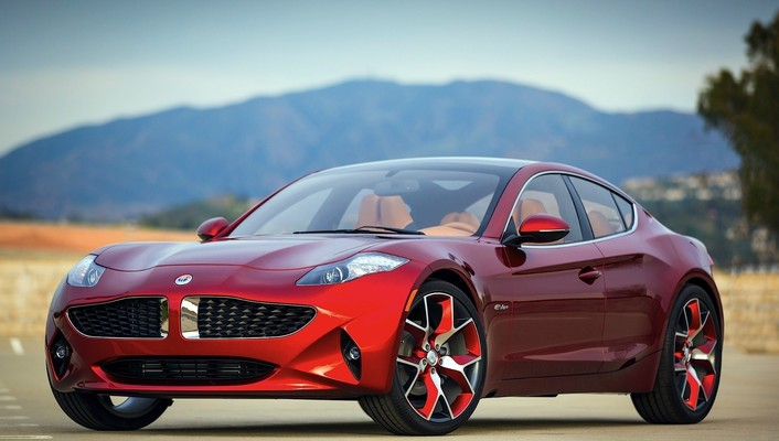 Fisker atlantic cars red wallpaper