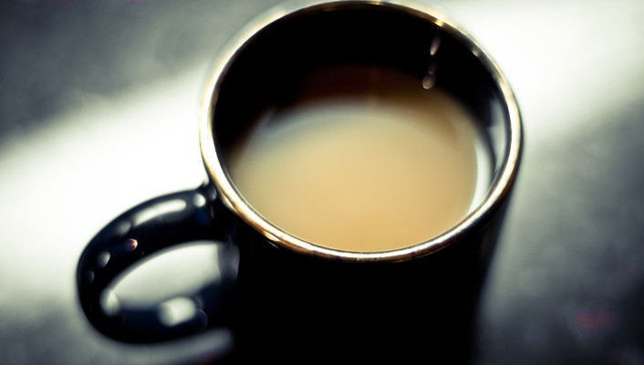 Coffee depth of field macro wallpaper