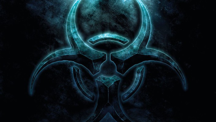 Blue Biohazard Symbol Wallpaper Allwallpaper 3816 Pc En