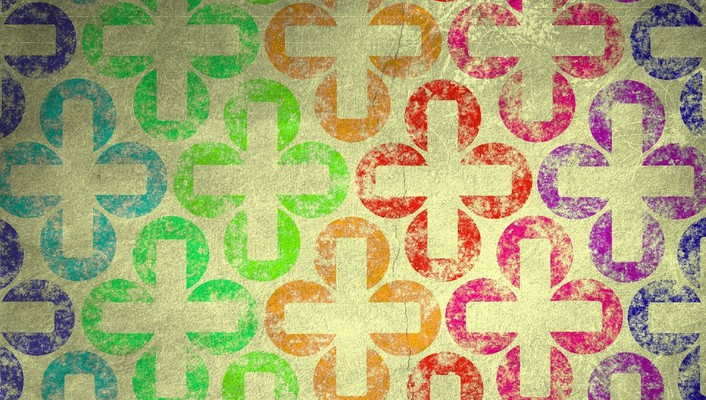 Abstract cross wallpaper