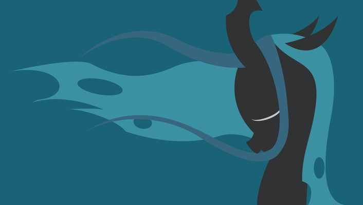 My little pony queen chrysalis simple wallpaper