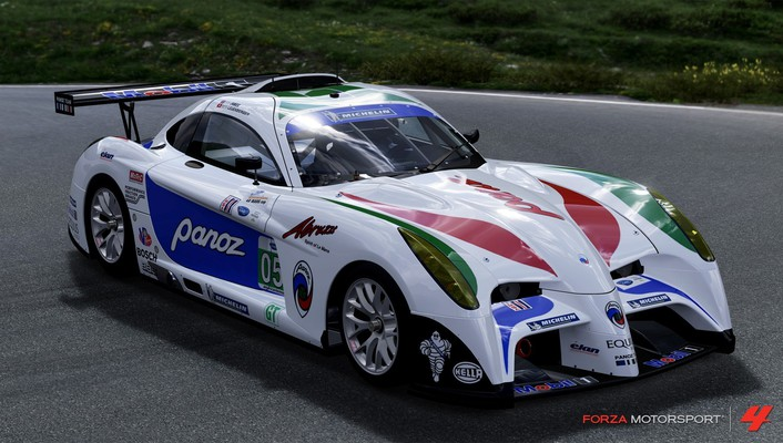 Forza motorsport 4 panoz xbox 360 abruzzi cars wallpaper