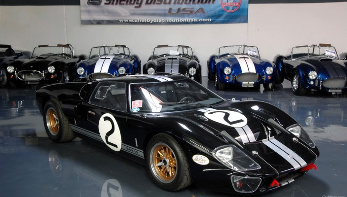 Ford gt40 shelby cars wallpaper