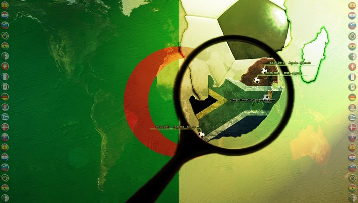 Algeria world cup wallpaper