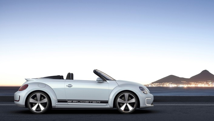 Ebuster volkswagen concept art convertible static wallpaper