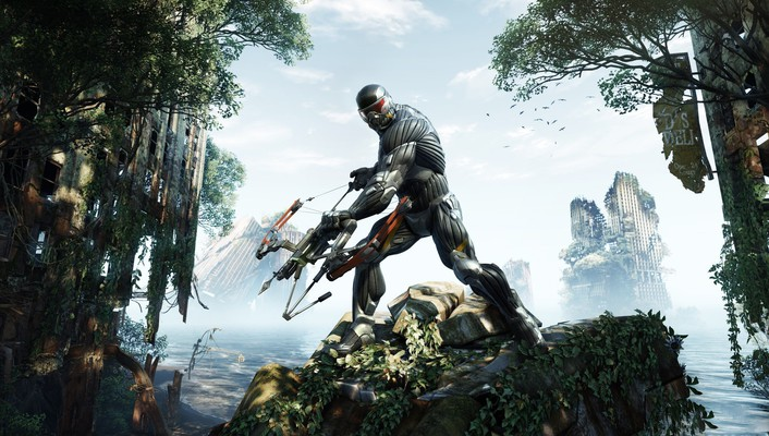 Crysis 3 games wallpaper