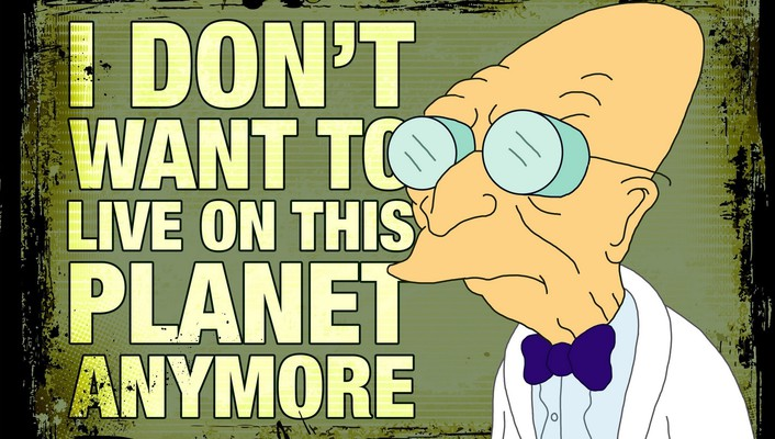 Futurama comics planets meme professor farnsworth wallpaper