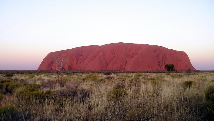 Australia ayers rock landscapes nature uluru wallpaper