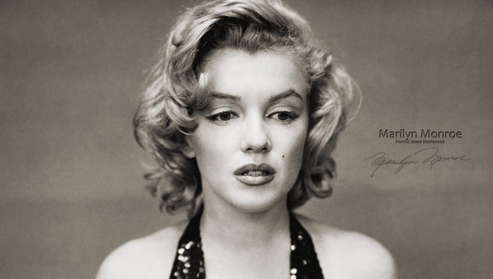 People marilyn monroe monochrome faces factor portraits wallpaper