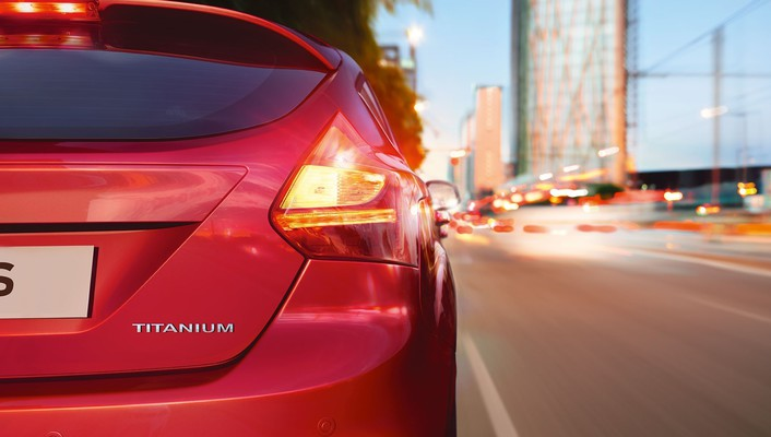 Ford focus taillights wallpaper
