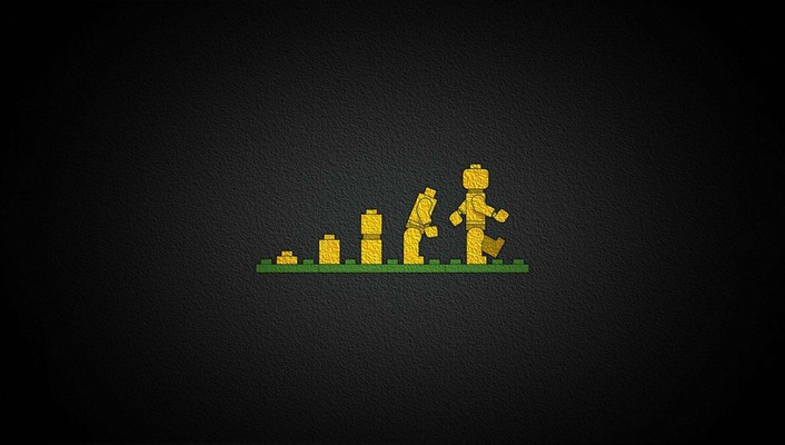 Legos bricks childhood children evolution wallpaper
