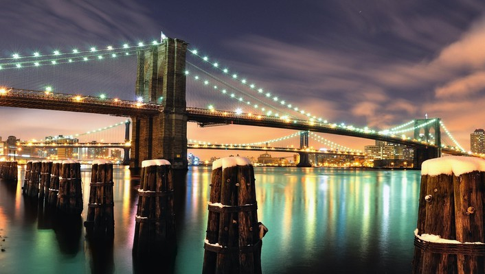 Brooklyn bridge york wallpaper