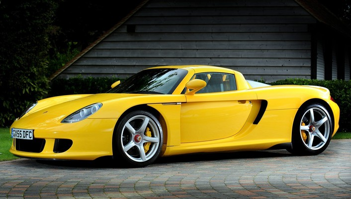 Supercars porsche carrera gt wallpaper