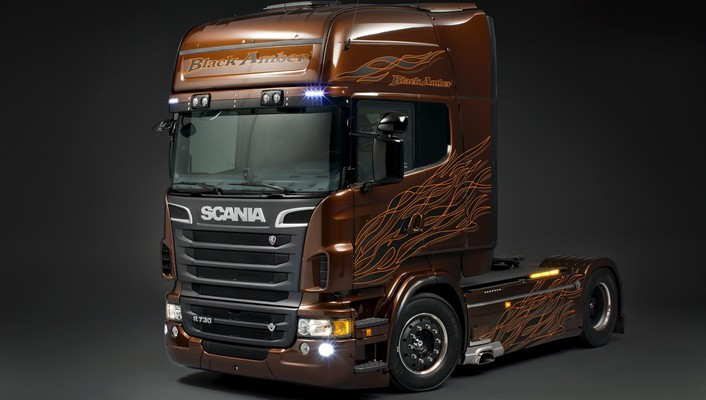 Scania trucks wallpaper
