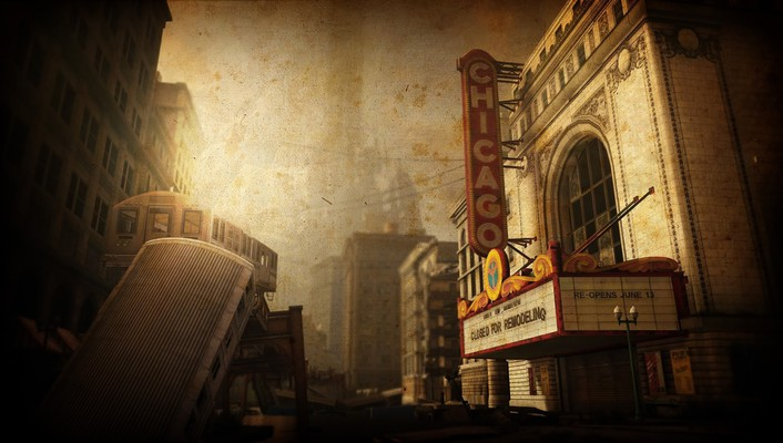 Chicago theatre wallpaper