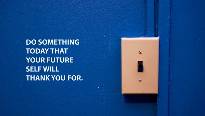 Today futuristic motivational quotes thank you wallpaper