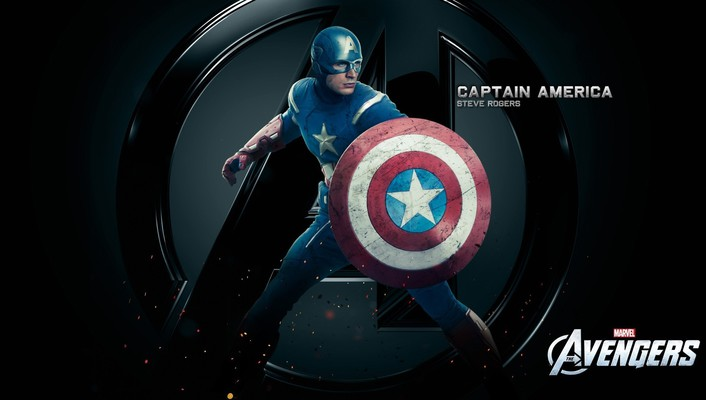 Evans marvel steve rogers the avengers movie wallpaper