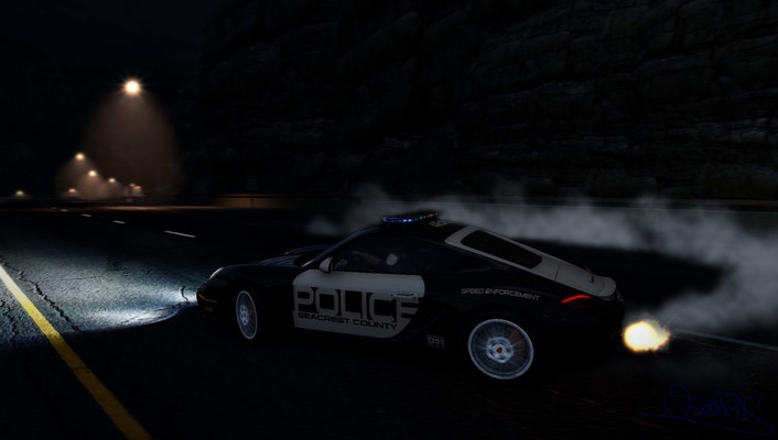 Hot pursuit porsche cayman s pc games wallpaper