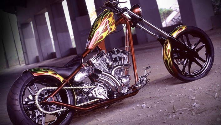 Motorbikes west coast choppers wallpaper