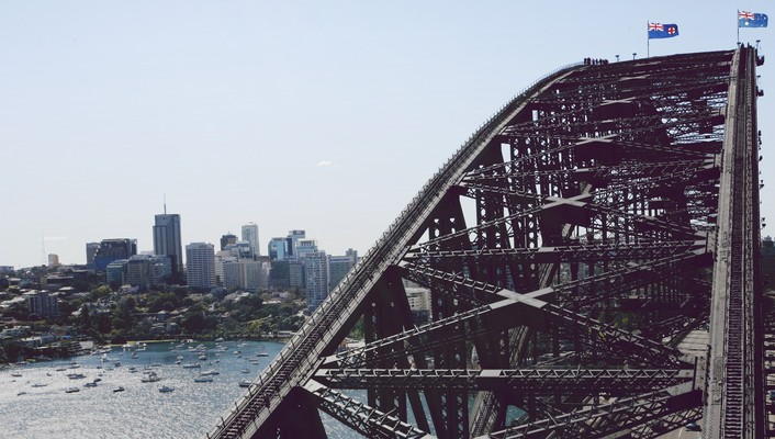 Sydney architecture bridges buildings cityscapes wallpaper