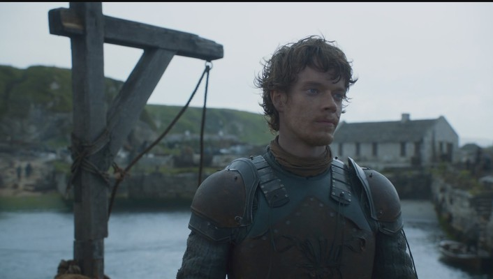 Alfie allen game thrones hbo tv series wallpaper