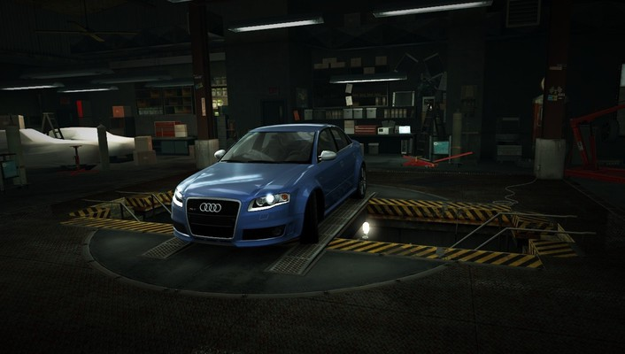Need for speed audi world garage nfs wallpaper