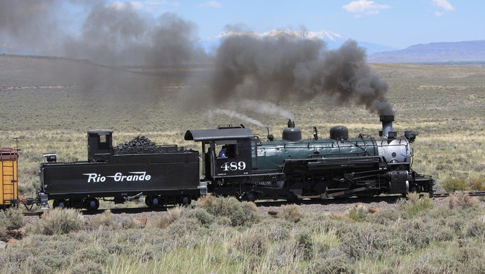 Lava trains steam engine locomotives rio grande widescreen wallpaper