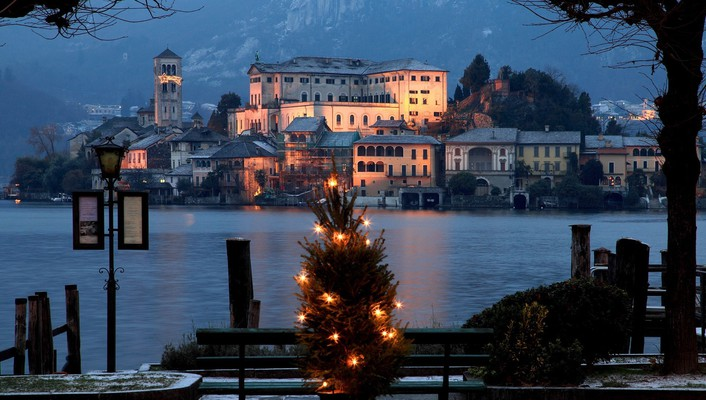 Christmas italy wallpaper
