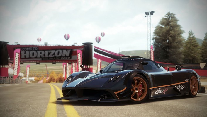 Video games pagani 2010 forza horizon wallpaper