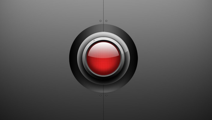 Red eye orb wallpaper