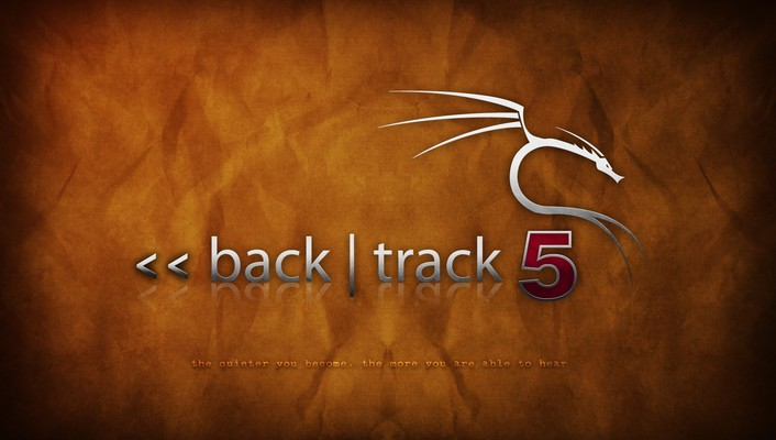 Backtrack 5 orange wallpaper