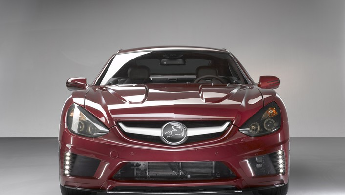 Carlsson c25 super gt cars front red wallpaper