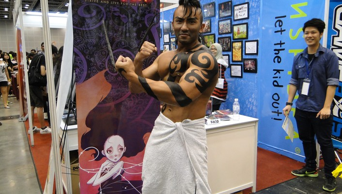 Old spice cosplay wallpaper