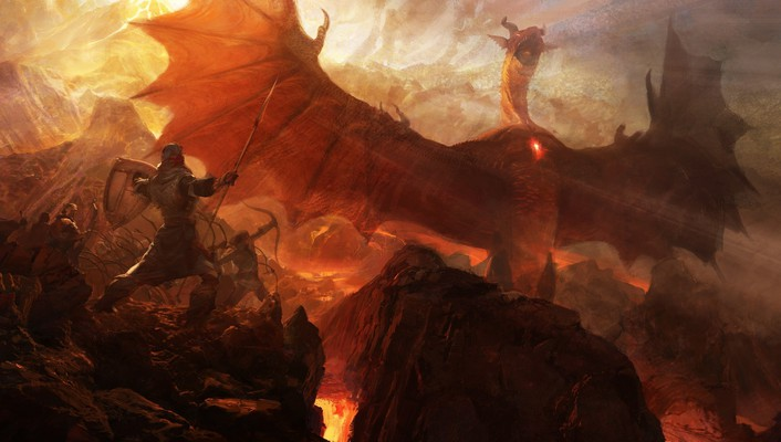 Dragons dogma artwork fantasy art medieval wallpaper