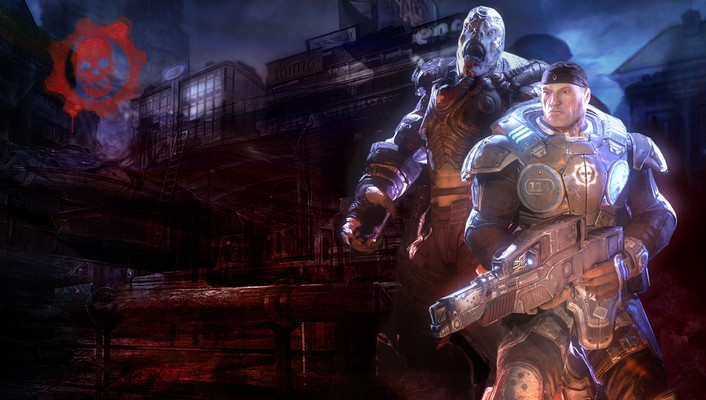 Video games gears of war marcus fenix wallpaper
