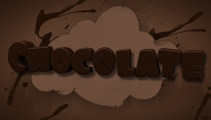 Text chocolate mangotangofox wallpaper