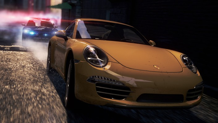 For speed most wanted 911 carrera s wallpaper