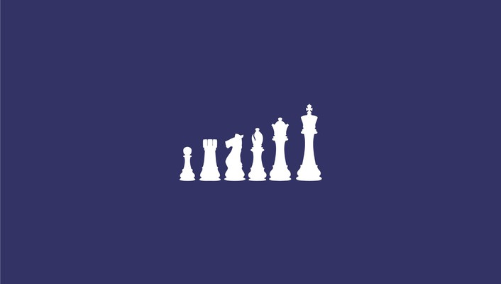 Chess minimalistic purple background video games wallpaper