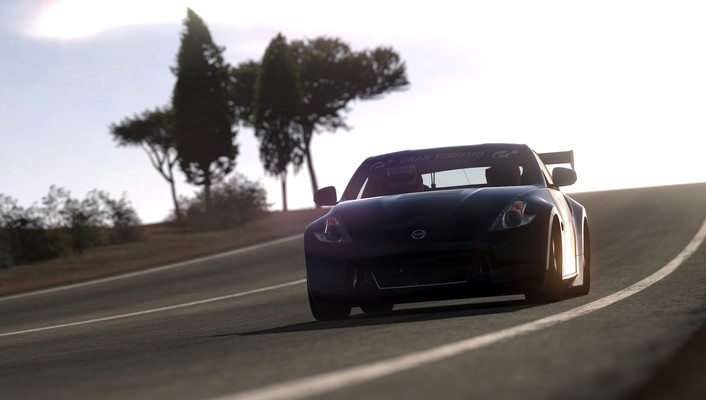 Nissan 370z playstation 3 cars video games wallpaper