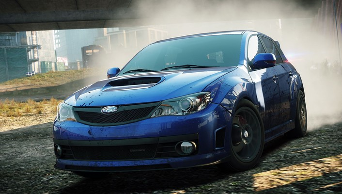 Impreza need for speed most wanted 2 wallpaper