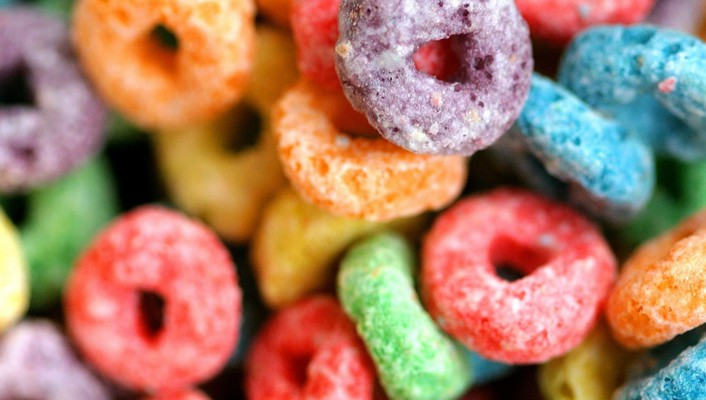 Fruit loops candies cereal wallpaper