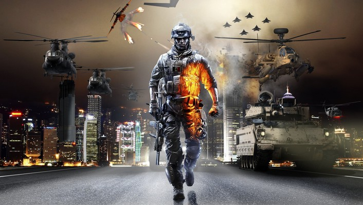 Battlefield 3 battles cover eotech wallpaper