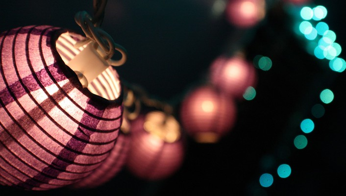 China closeup lamps lanterns macro wallpaper