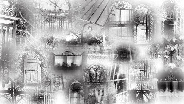 Gates of goth wallpaper